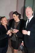 JACQUES AZAGURY; IMMODESTY BLAIZE, Valentino: Master of Couture - private view. Somerset House, London. 28 November 2012