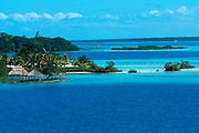 MEXICO, YUCATAN Bacalar; Laguna de Siete Colors