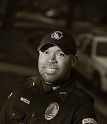 Madison Police officer. (Photo © Andy Manis)