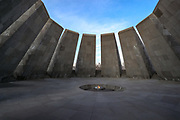 Pictures show the Armenian Genocide Memorial Complex on Tsitsernakaberd Hill photographed on Sunday, 17 January 2021. <br /> Saturday, April 24th marks the 106th anniversary of the mass killings of Armenians under the Ottoman Empire in 1915 and it is known as Armenian Genocide Remembrance Day in Yerevan, Armenia. (Photo/ Vudi Xhymshiti)