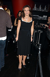 ELLA KRASNER at a preview of Lulu Guinness's new Handbag Collection ' Couture' held at Aviva, Baglioni Hotel, 60 Hyde Park Gate, London SW7 on 15th February 2006.<br /><br />NON EXCLUSIVE - WORLD RIGHTS