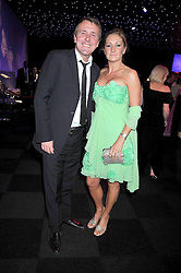 PHIL TUFNELL and his wife DAWN at The Butterfly Ball in aid of the Caudwell Children Charity held in Battersea park, London on 14th May 2009.