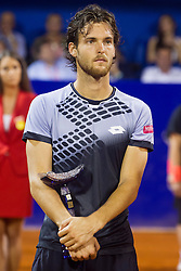 Joao Sousa (POR) after final match of singles at 26. Konzum Croatia Open Umag 2015, on July 26, 2015, in Umag, Croatia. Photo by Urban Urbanc / Sportida