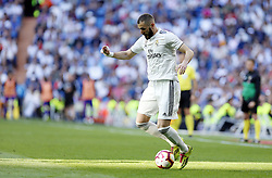 March 16, 2019 - Madrid, Madrid, Spain - Real Madrid CF's Karim Benzema seen in action during the Spanish La Liga match round 28 between Real Madrid and RC Celta Vigo at the Santiago Bernabeu Stadium in Madrid. (Credit Image: © Manu Reino/SOPA Images via ZUMA Wire)
