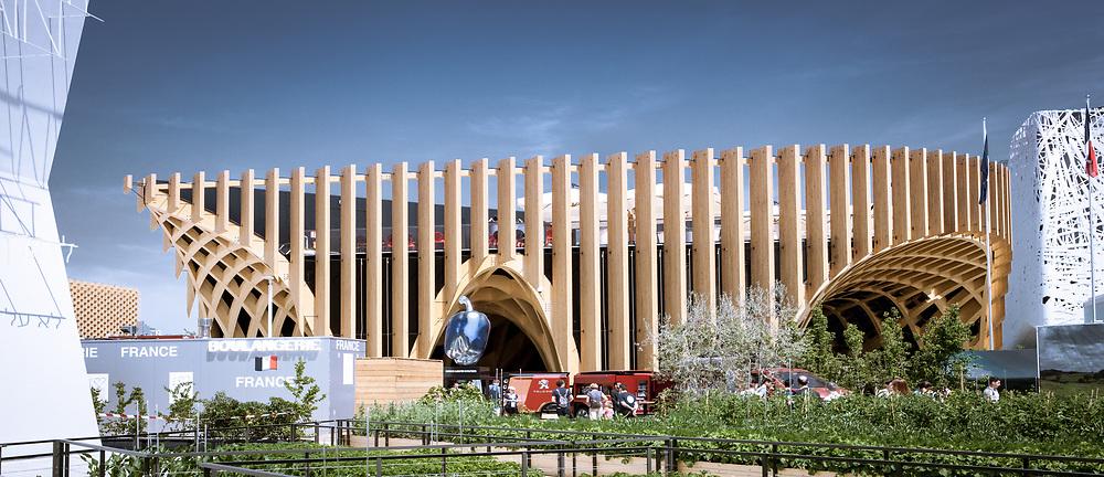 X-TU Architecture / Thierry Laverne paysagiste • Pavillon de la France, World Expo 2015, Milano