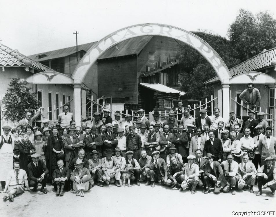 1924 Vitagraph Studios in Hollywood