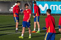 Yeray Alvarez during the training of Spanish national team under 21 at Ciudad del El futbol  in Madrid, Spain. March 21, 2017. (ALTERPHOTOS / Rodrigo Jimenez)
