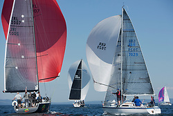 Sailing - SCOTLAND  - 28th May 2018<br /> <br /> Final days racing the Scottish Series 2018, organised by the  Clyde Cruising Club, with racing on Loch Fyne from 25th-28th May 2018<br /> <br /> `GBR7029, Farr e Nuff, John S Kent, Fairlie YC & Largs SC, Farr 727<br /> <br /> Credit : Marc Turner<br /> <br /> Event is supported by Helly Hansen, Luddon, Silvers Marine, Tunnocks, Hempel and Argyll & Bute Council along with Bowmore, The Botanist and The Botanist