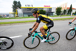 Primoz Roglic of Team Lotto NL Jumbo during 3rd Stage of 25th Tour de Slovenie 2018 cycling race between Slovenske Konjice and Celje (175,7 km), on June 15, 2018 in  Slovenia. Photo by Vid Ponikvar / Sportida