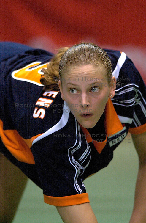21-06-2000 JAP: OKT Volleybal 2000, Tokyo<br /> Nederland - Croatie 2-3 / Chaine Staelens
