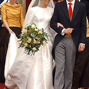 NLD/Naarden/20051022 - Huwelijk prins Floris en Aimee Söhngen,