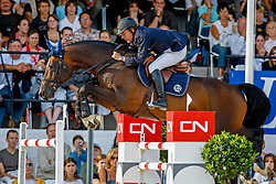Bourdy Hubert - Toulon<br /> Global Champions Tour Cannes 2007<br /> Photo © Hippo Foto