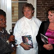 NLD/Naarden/20081006 - Boekpresentatie Catherine & Friends, Gerda Havertong, Paul Fagel en Catherine