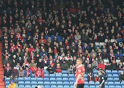 Bristol City fans - Photo mandatory by-line: Dougie Allward/JMP - Mobile: 07966 386802 - 03/04/2015 - SPORT - Football - Oldham - Boundary Park - Bristol City v Oldham Athletic - Sky Bet League One