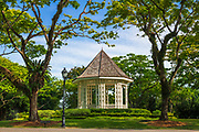 The Bandstand gazebo, Singapore Botanic Gardens, Singapore, Republic of Singapore