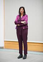 DEU, Deutschland, Germany, Berlin, 11.11.2020: Portrait von Katrin Göring-Eckardt, Vorsitzende der Bundestagsfraktion von BÜNDNIS 90/DIE GRÜNEN.