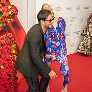 NLD/Amsterdam/20190628 - inloop International Young Patrons Gala 2019, Lizzy van der Ligt en Yuki Kempees