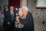 ANTONIO CARLUCCIO; ELSPETH JUDA, Launch party for the publication of Antonio Carluccio's memoirs, A Recipe for Life, . Carluccio's in Covent Garden Garrick St. London.  26 September 2012