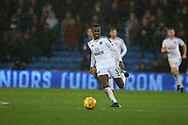 Ryan Sessegnon of Fulham in action. EFL Skybet championship match, Cardiff city v Fulham at the Cardiff city stadium in Cardiff, South Wales on Boxing Day, Tuesday 26th December 2017.<br /> pic by Andrew Orchard, Andrew Orchard sports photography.