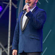 The Barricade Boys performs at West End Live 2019 - Day 2 in Trafalgar Square, on 23 June 2019, London, UK.