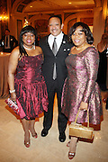 l to r: Caludette Griffith, Marc Morial and Sybil Chester at The Fifth Annual Grace in Winter Gala honoring Susan Taylor, Kephra Burns, Noel Hankin and Moet Hennessey USA and benfiting The Evidence Dance Company held at The Plaza Hotel on February 3, 2009 in New York City.