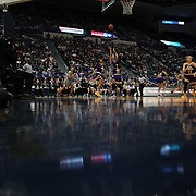 HARTFORD, CONNECTICUT- JANUARY 4:  A general view as Katie Lou Samuelson #33 of the Connecticut Huskies shoots for three points during the UConn Huskies Vs East Carolina Pirates, NCAA Women's Basketball game on January 4th, 2017 at the XL Center, Hartford, Connecticut. (Photo by Tim Clayton/Corbis via Getty Images)