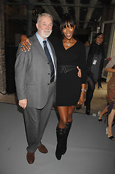 NAOMI CAMPBELL and COLIN MCDOWELL at Fashion Fringe 2007 held at 1 The Piazza, Covent Garden, London on 20th September 2007.<br /><br />NON EXCLUSIVE - WORLD RIGHTS
