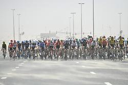 March 2, 2019 - Dubai, Emirati Arabi Uniti, Emirati Arabi Uniti - Foto LaPresse - Fabio Ferrari.02 Marzo 2019 Dubai (Emirati Arabi Uniti).Sport Ciclismo.UAE Tour 2019 - Tappa 7 - da Dubai Safari Park a City.Walk - 145 km.Nella foto: durante la tappa..Photo LaPresse - Fabio Ferrari.March 02, 2019 Dubai (United Arab Emirates) .Sport Cycling.UAE Tour 2019 - Stage 7 - From Dubai Safari Park to.City Walk  - 90 miles..In the pic: during the race (Credit Image: © Fabio Ferrari/Lapresse via ZUMA Press)