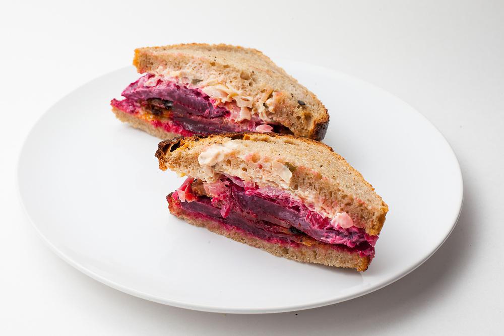 Beet Ruben Sandwich from Riverwards ($9.50)
