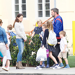 Jennifer Garner and Ben Affleck with their children in Brentwood ***SPECIAL INSTRUCTIONS*** Please pixelate children's faces before publication.***. 07 Mar 2018 Pictured: Jennifer Garner, Ben Affleck, Violet, Seraphina, Samuel. Photo credit: Kelly/MEGA TheMegaAgency.com +1 888 505 6342