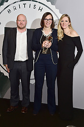 Clare Binns, Edith Bowman and Mark Herbert bei den British Independent Film Awards in London / 041216<br /> <br /> <br /> *** at the British Independent Film Awards in London on December 4th, 2016 ***