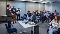 Porto Alegre, RS 14.11.2018: O prefeito, Nelson Marchezan Júnior, conduziu, na tarde desta segunda-feira (14), na ACPA da Federasul, o Seminário de Imersão em Inovação (Pacto pela Inovação). Foto: Jefferson Bernardes/PMPA