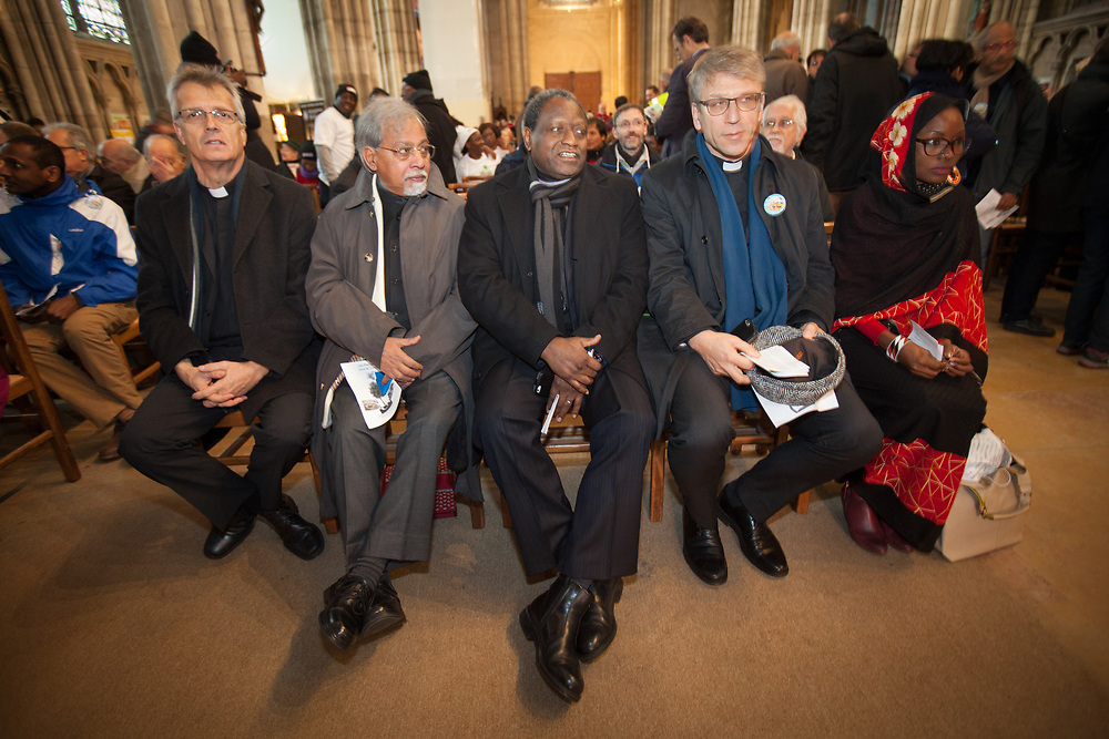 The UN climate talks called COP21 were held in Paris. Multi-faith meetings and celebrations were held across Paris in support of urgent action on climate change.