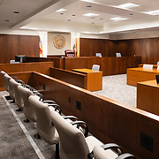Interior of Kern County Superior Court, Bakersfeild CA