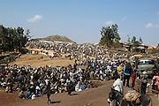 Africa, northern Ethiopia, Lalibela, The Market. People travel for days to come and trade goods at the market