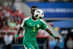 June 19, 2018 - Moscow, Vazio, Russia - Win during a match between Poland and Senegal, valid for the first round of group H of the 2018 World Cup, held at the Spartak Stadium in Moscow, Russia (Credit Image: © Thiago Bernardes/Pacific Press via ZUMA Wire)