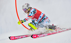 13.11.2016, Black Race Course, Levi, FIN, FIS Weltcup Ski Alpin, Levi, Salalom, Herren, 1. Lauf, im Bild Manuel Feller (AUT) // Manuel Feller of Austria in action during 1st run of mens Slalom of FIS ski alpine world cup at the Black Race Course in Levi, Finland on 2016/11/13. EXPA Pictures © 2016, PhotoCredit: EXPA/ Nisse Schmidt<br /> <br /> *****ATTENTION - OUT of SWE*****
