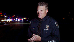 Boise Police Chief Bill Bones, at a news conference Saturday night, provides information about a multiple stabbing crime at the Wyle Street Station Apartments off State Street in Boise, Idaho, USA on Saturday, June 30, 2018. A call to police was made at 8:46 p.m. All nine victims were transported to the hospital and police apprehended a suspect soon after the incident. Photo by Darin Oswald/Idaho Statesman/TNS/ABACAPRESS.COM