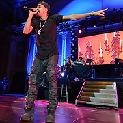 WASHINGTON, D.C. - January 30, 2014 - Rapper J. Cole performs at DAR Constitution Hall in Washington, D.C. Cole's sophomore album, Born Sinner, reached number one  on the Billboard 200 album chart in 2013. (Photo by Kyle Gustafson / For The Washington Post)