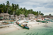 Phillipines, Tawi Tawi. Traditional village on one of the tropical island of the archipelago.