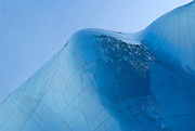 The Experience Music Project in Seattle, Washington.  A music museum which opened its doors in 2000 was designed by Frank Gehry.