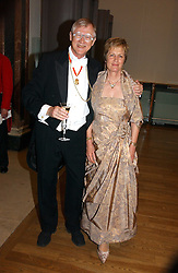 SIR NICHOLAS & LADY GRIMSHAW he is President of the RA at The Royal Academy dinner before the official opening of the Summer Exhibition held at the Royal Academy of Art, Burlington House, Piccadilly, London W1 on 6th June 2006.<br /><br />NON EXCLUSIVE - WORLD RIGHTS