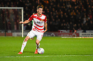 Joe Wright of Doncaster Rovers (5) during the EFL Sky Bet League 1 match between Doncaster Rovers and Sunderland at the Keepmoat Stadium, Doncaster, England on 23 October 2018.