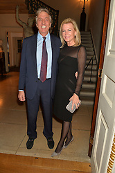 NICK & EIMEAR COOK at an evenig of Jewellery & Photography to launch the Buccellati 'Opera Collection' held at Spencer House, London on 21st October 2015.