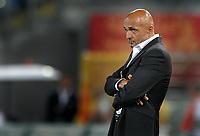 Luciano Spalletti, allenatore AS Roma.<br /> Roma vs Gent 3-1<br /> Europa League <br /> Stadio Olimpico, Roma, 30/07/2009.<br /> Photo Antonietta Baldassarre Inside
