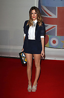 Caroline Flack atThe Brit Awards 2012 , O2 Arena, North Greenwich, London, England 21st February 2012 Picture By: Brian Jordan / Retna Pictures<br /> Job:<br /> Ref: BJN  <br /> -<br /> *World Rights*