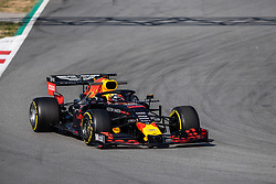 February 18, 2019 - Montmelo, BARCELONA, Spain - Circuit de Barcelona Catalunya, BARCELONA, 18 of february 2019. Max Vertappen driver of Red Bull  during the first day of Test at Circuit de Barcelona Catalunya (Credit Image: © AFP7 via ZUMA Wire)