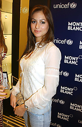 """SASKIA BOXFORD at a party to celebrate the opening of the new Mont Blanc store at 151 Sloane Street, London on 9th March 2005.  The evening was held in conjunction with UNICEF's """"Sign up for the right to write"""" campaign which is raising money though the sale of celebraties 'statements' currently for auction on the ebay website.<br /><br />NON EXCLUSIVE - WORLD RIGHTS"""