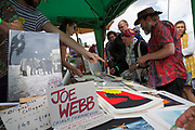 Buyers queued up for 4 hours to grab a bargain at the 2017 Art Car Boot Fair, Folkestone, Kent.