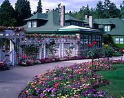 Butchart Gardens, Vancouver Island, British Columbia, Canada.